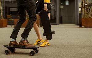 Carbon Fiber Electric Skateboard