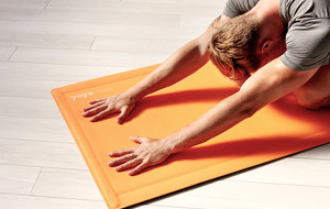 Self-Rolling Fitness Mats