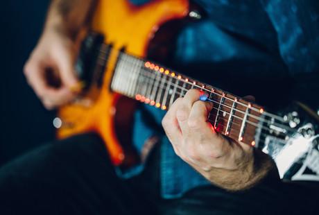 LED Interactive Guitar Teacher