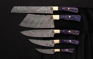 Damascus Kitchen Cutlery