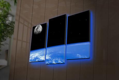 Backlit LED Canvas Prints