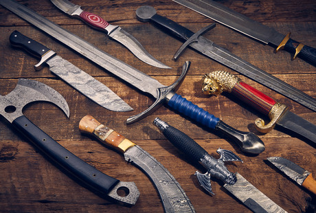 Artisanal Swords, Knives, & Axes