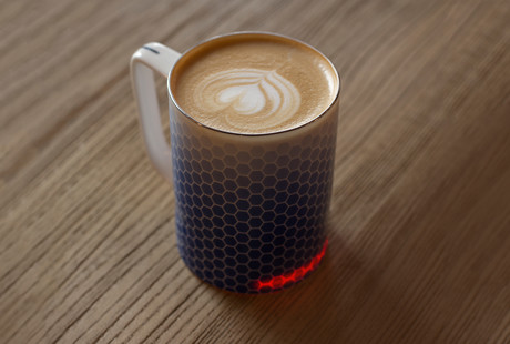 The Self-Heating Smart Mug