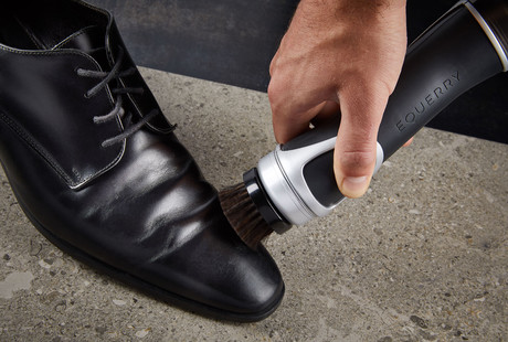 Motorized Shoe Polishing Brush