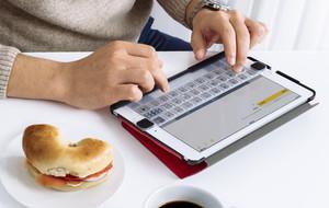 Tactile iPad Keyboards
