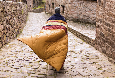 Transformable Outdoor Pillow Blanket