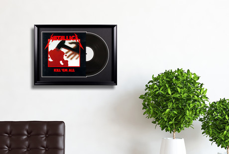 Framed Rock'n'Roll Collectibles