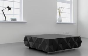 Dramatic Hexagonal Furniture