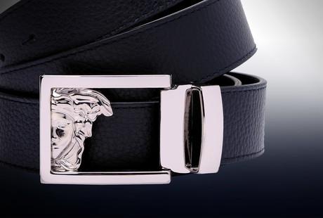 Designer Leather Belts + Wallets