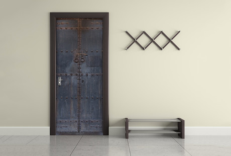 Self Adhesive Door Murals