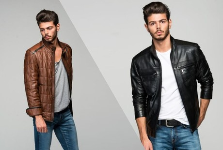 Ruggedly Handsome Leather Jackets