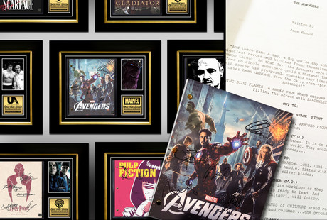 Limited Edition Movie & TV Scripts