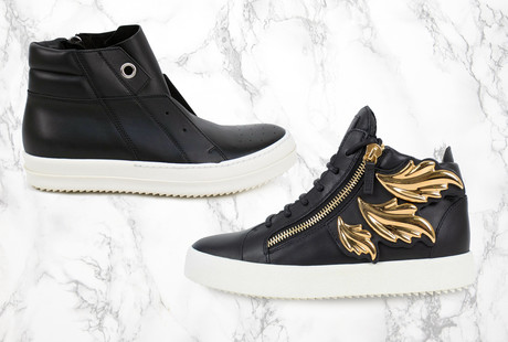 Bold & Sophisticated Urban Footwear