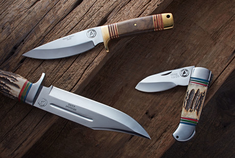 Ruggedly Handcrafted Blades