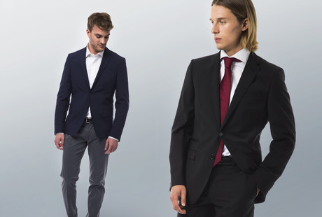 Contemporary Suits & Blazers