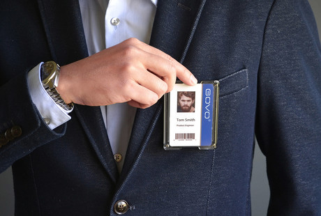 The Badge Holder Wallet