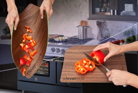 Flexible Hardwood Cutting Board