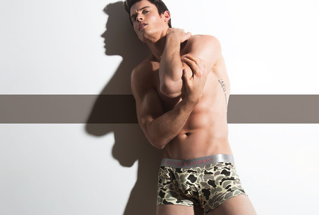 Printed Low-Rise Briefs + Trunks