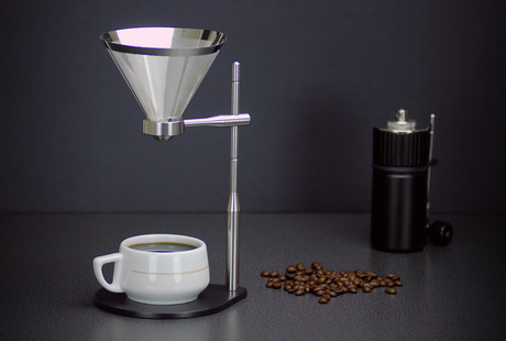 Precision Pourover Brewer + Grinder