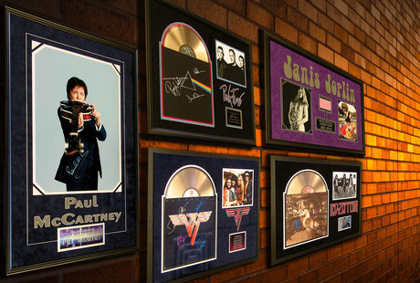 Memorabilia From Music Legends