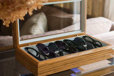 Luxury Tech + Eyewear Organizers