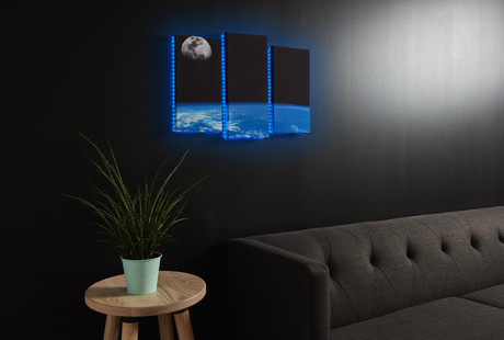 LED Canvas Art