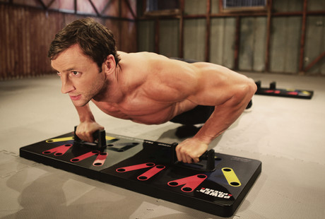 The Power Press Pushup Trainer