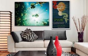 Aquatic Inspired Canvas Prints