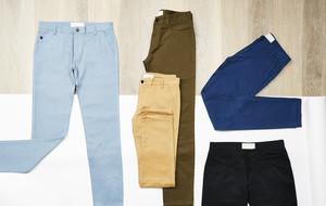 Joggers, Khakis, Jeans, + Shorts