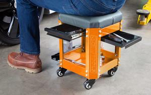 Tool-Storing Creeper Seats