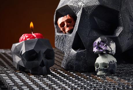 Crystal Skulls + Chillum Stones