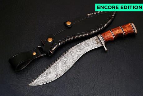 Exotic Damascus Blades