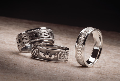 Argentium Sterling Silver Rings
