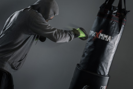 Top Tier Punching Bags + Equipment
