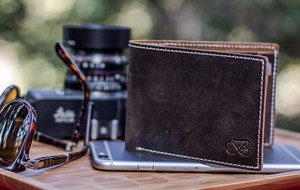Rugged Leather Wallets