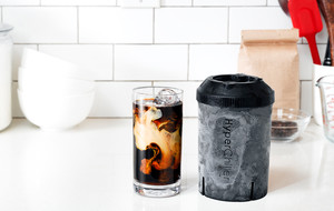 Hot To Iced Coffee In Seconds