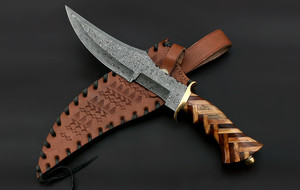 Mixed Damascus Blades