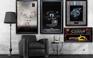 Autographed Horror Film Collectibles