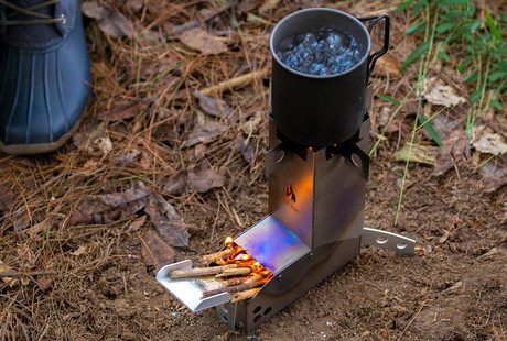The Mini Wood Stove