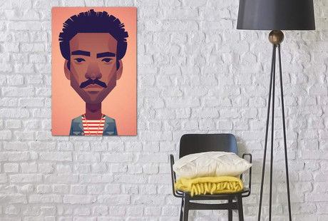 Stylized Pop Culture Portraits
