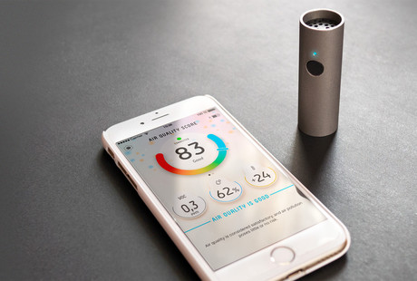 Portable Air Quality Sensor