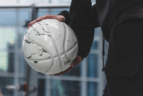 Marbleized Basketballs