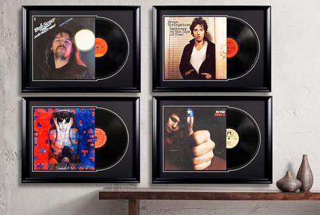 Framed Rock'n'Roll Displays