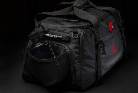 Self-Sanitizing Gym Bag