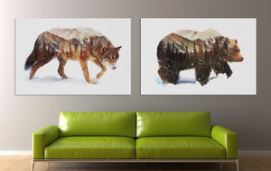 Wild Art on Canvas
