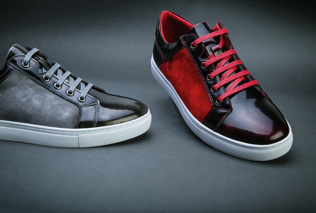 Upscale Leather Sneakers