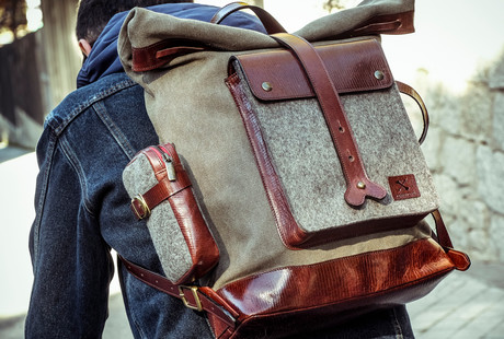 Ruggedly Handsome Bags + Wallets