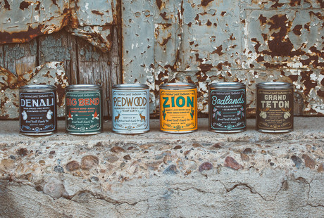 Candles Inspired By National Parks