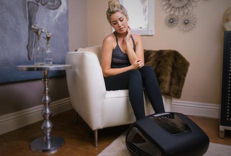 Heated Ergonomic Foot Massager
