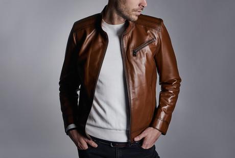 Sleek Leather Jackets